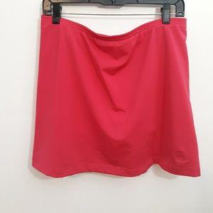ADIDAS Pink Performance Skort Size L